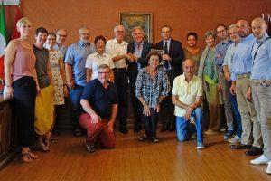Celebrato il 20esimo anniversario dal gemellaggio tra Bolsena e Volkertshausen