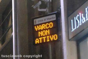 Viterbo - Un varco ztl