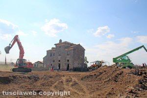 Viterbo - I lavori lungo la Cassia nord