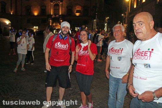 Viterbo - Street workout per santa Rosa - Achilli, Nunzi, Mecarini e Rossi