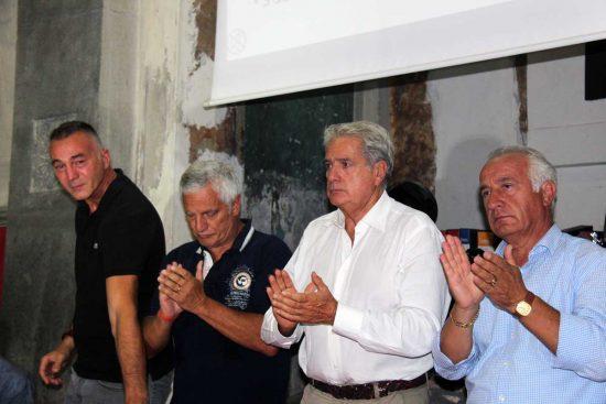 Viterbo - Santa Rosa - L'incontro dei facchini - Ascenzi, Mecarini, Arena e Fiorillo