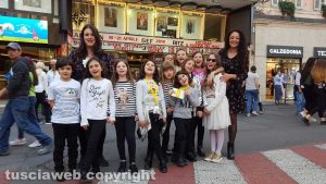 """""""Contrappunto Kids"""" nella sua recente esibizione a Sanremo"""