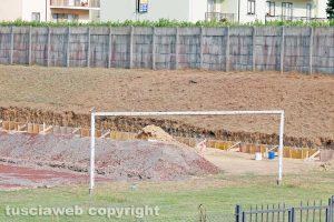 Sport - Calcio - Viterbese - I lavori al Paris di Grotte di Castro