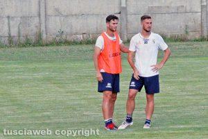 Sport - Calcio - Viterbese - Alessandro Polidori e Andrea De Vito