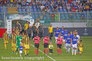Sport - Calcio - Viterbese - Il match contro la Sampdoria