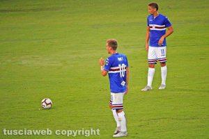 Sport - Calcio - Sampdoria - Dennis Praet e Gaston Ramirez