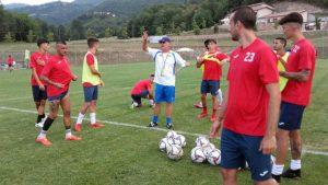 Sport - Calcio - Monterosi - L'allenamento dei biancorossi