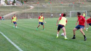Calcio - Il Monterosi in ritiro