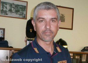 Polizia stradale - Il comandante Gianluca Porroni