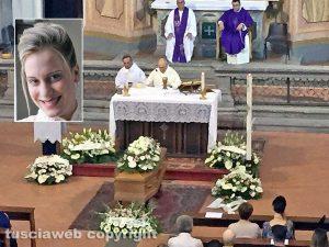 Tuscania - I funerali di Doriana Clementi