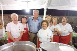 """Viterbo - La """"Cena insieme nella piazza della solidarietà"""""""
