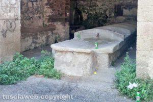 Viterbo - Incuria a Bagnaia