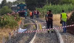 Reggio Calabria - Tragedia ferroviaria