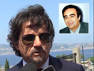 Il procuratore capo Giovanni Bombardieri - Nel riquadro Antonino Scopelliti