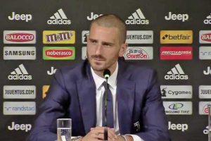 Sport - Calcio - Juventus - La conferenza stampa di Leonardo Bonucci