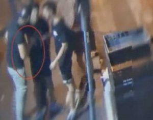 Roma - La banda di rapinatori ripresa dalla videosorveglianza