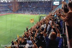 Sport - Calcio - Viterbese - I tifosi al Ferraris