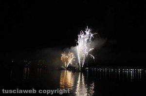 Fuochi d'artificio a Capodimonte