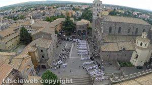 Viterbo - Santa Rosa - I facchini nel giro delle sette chiese