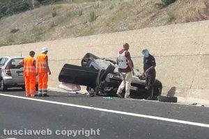 Santa Severa - Incidente sull'A12
