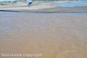 Tarquinia - La foce del fiume Marta