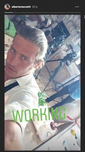 Alberto Mezzetti su Instagram