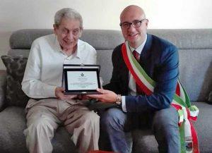 Alberto Sed e il sindaco Angelelli