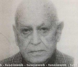 Fernando Perugini, il 94enne scomparso da Tarquinia