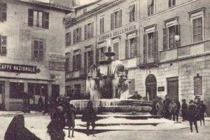 Viterbo - L'hotel Antico Angelo in piazza delle Erbe