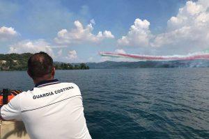 Montefiascone - La guardia costiera all'Air show