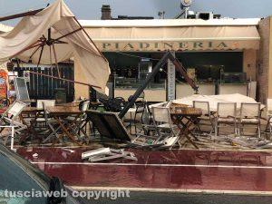 Maltempo - Nubifragio a Montalto Marina - I danni in un locale
