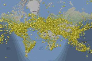 Il traffico aereo