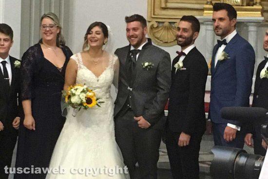 Blera - Il matrimonio Giuseppe Fazzi e Nicole Renzetti sposi