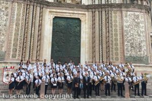 Cultura - La Filarmonica vejanese a Orvieto