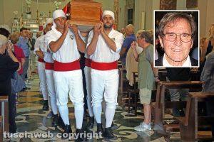 Viterbo - I funerali di Antonio Febbraro