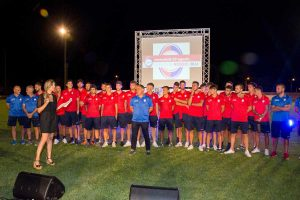 Sport- Flaminia calcio - La presentazione ufficiale della squadra