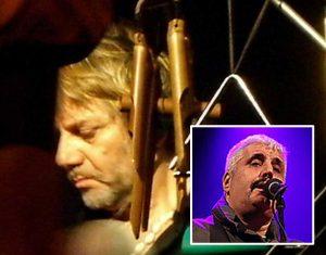 Tony Esposito - Nel riquadro Pino Daniele