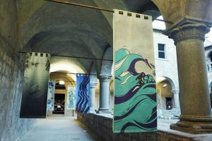 "Tuscania - La mostra ""Stendardi d'acqua"""