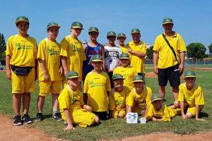 Sport - Baseball - Montefiascone - La squadra under 12
