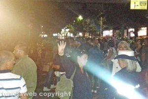 Viterbo - Santa Rosa - Le persone fuori dalle barricate