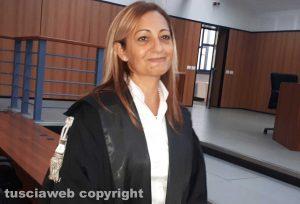 Il sostituto procuratore Chiara Capezzuto