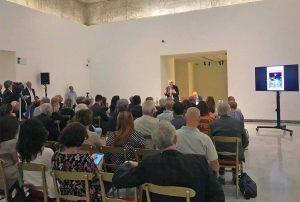 Roma - La conferenza di Vittorio Sgarbi a palazzo Cipolla