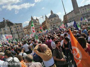 Roma - Dalla Tuscia in piazza per la manifestazione del Pd