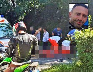 Orvieto - Incidente mortale - Nel riquadro Mauro De Angelis