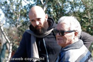 Alfonso Prota col focolare narrativo Vincenzo Gioiosi