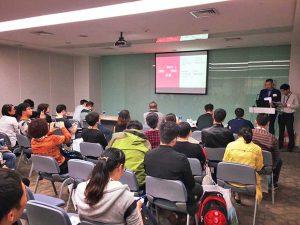 Conferenza di Emanuele Elo Usai a Dentech, Shanghai 2016 marketing