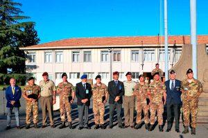 Viterbo - Il generale Pietro Serino in visita alla scuola sottufficiali dell'esercito