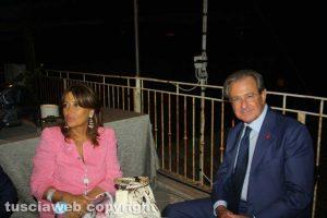Unindustria - Filippo Tortoriello e la signora Patrizia