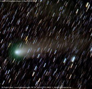 La cometa Giacobini-Zinner