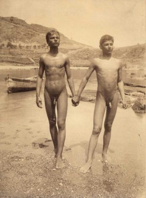 Una foto di nudo di Wilhelm von Gloeden